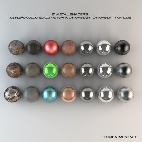 21 Metal Shaders