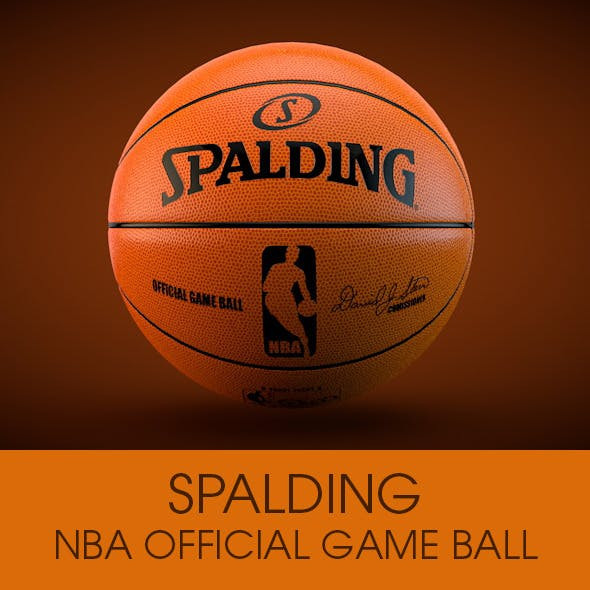 Spalding NBA Official ball - 3DOcean Item for Sale