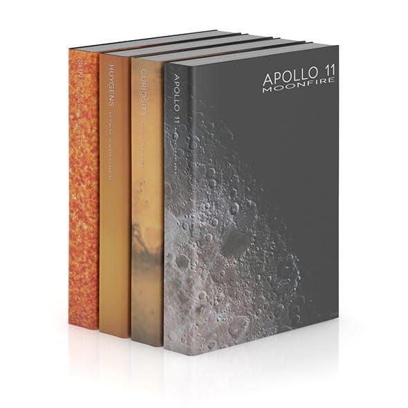 Books 1 - 3DOcean Item for Sale