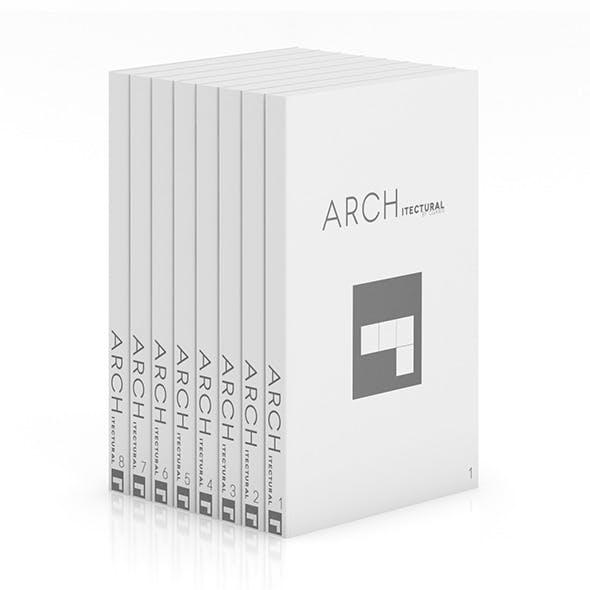 Books 10 - 3DOcean Item for Sale