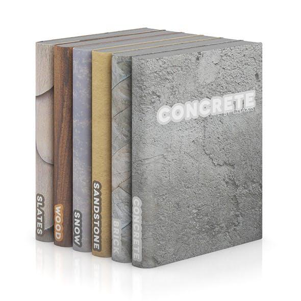 Books 12 - 3DOcean Item for Sale