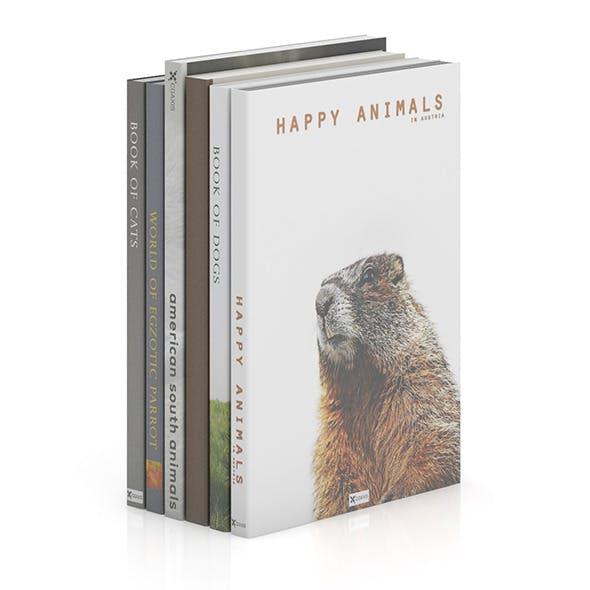 Books 17 - 3DOcean Item for Sale
