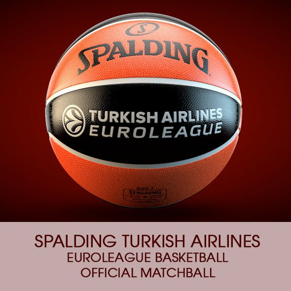 Spalding Euroleague Basketball Official ball