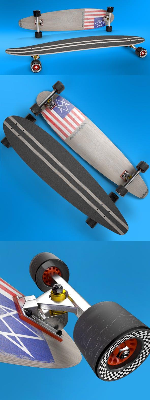 Longboard - 3DOcean Item for Sale