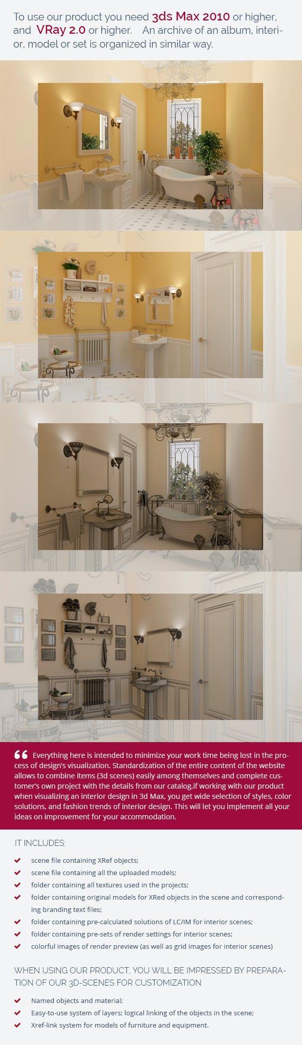 Bathroom 0371 - 3DOcean Item for Sale