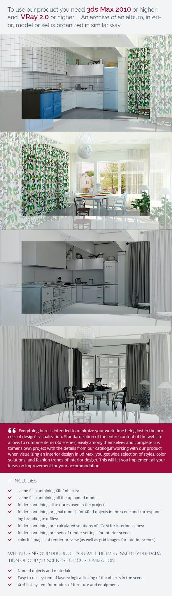 Kitchen 0198 - 3DOcean Item for Sale