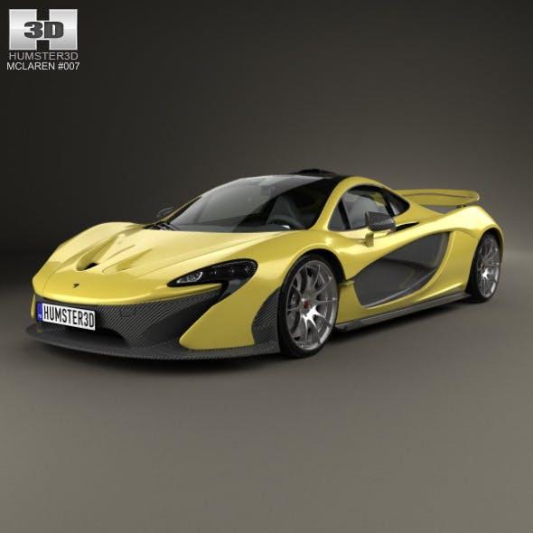 McLaren P1 2014 - 3DOcean Item for Sale