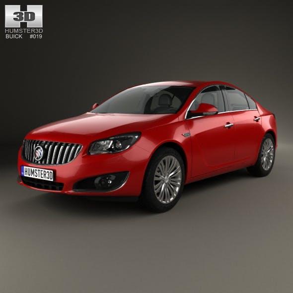 Buick Regal 2014 - 3DOcean Item for Sale