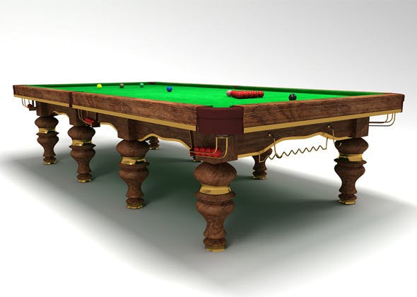 snooker table design - 3DOcean Item for Sale