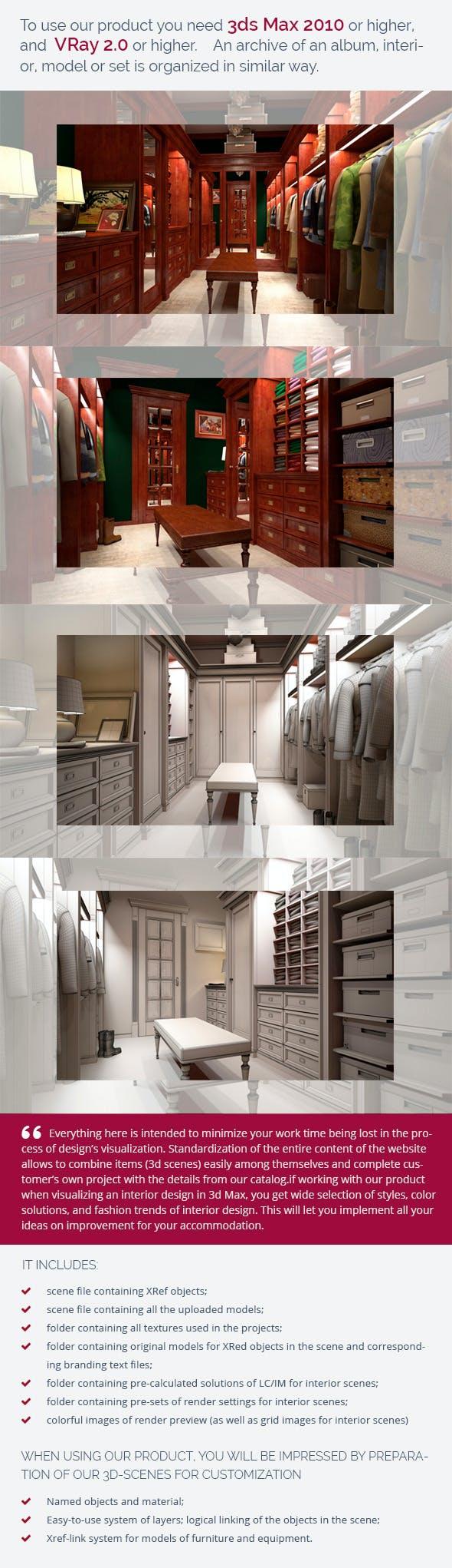 Dressing Room 0344 - 3DOcean Item for Sale