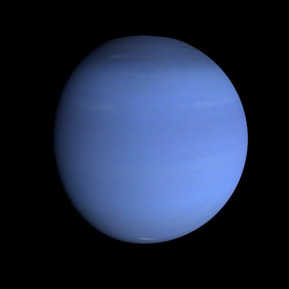 HD Neptune Model - 3DOcean Item for Sale