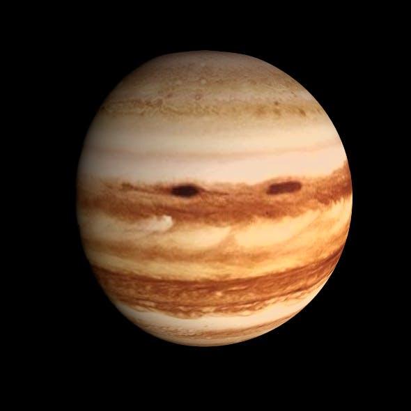 HD Jupiter Model - 3DOcean Item for Sale