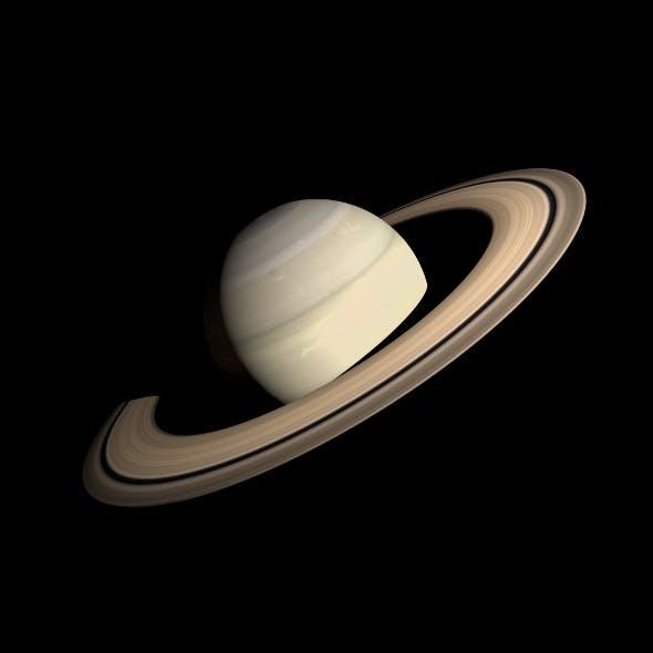 HD Saturn Model - 3DOcean Item for Sale