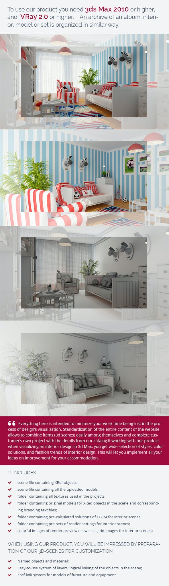 Nursery 0450 - 3DOcean Item for Sale