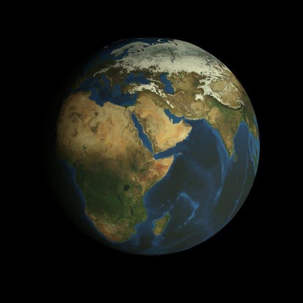 HD Earth Model - 3DOcean Item for Sale