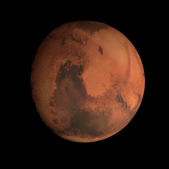 8K Mars Model