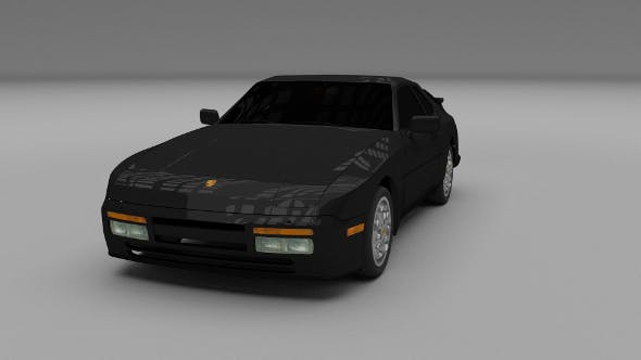 Porsche 944 Turbo - 3DOcean Item for Sale
