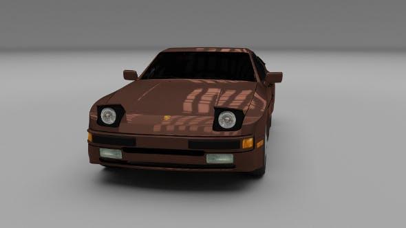 Porsche 944 S - 3DOcean Item for Sale