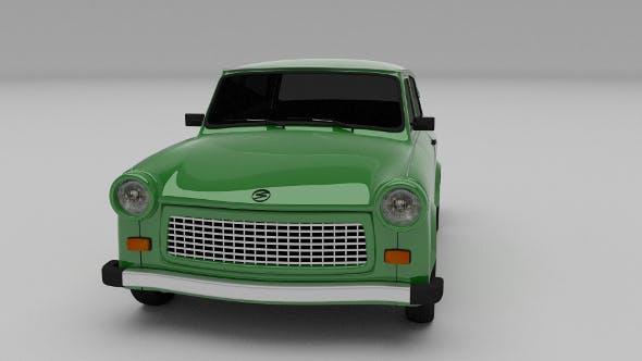 Trabant 601 estate - 3DOcean Item for Sale