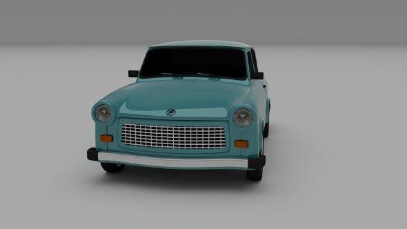 Trabant 601 - 3DOcean Item for Sale