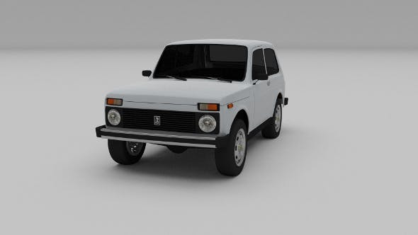 Lada Niva - 3DOcean Item for Sale
