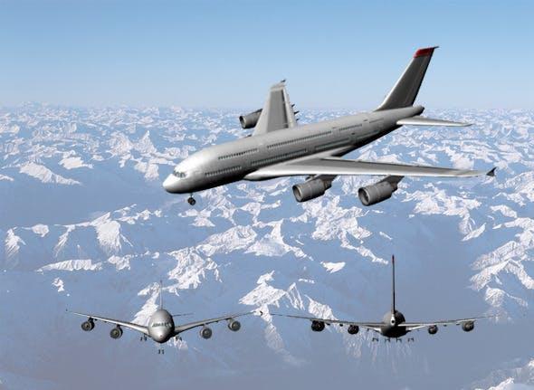 Airbus-380 - 3DOcean Item for Sale