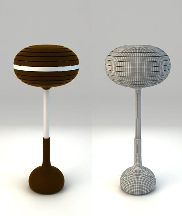 Bar Chair Caffe-Chocolate - 3DOcean Item for Sale
