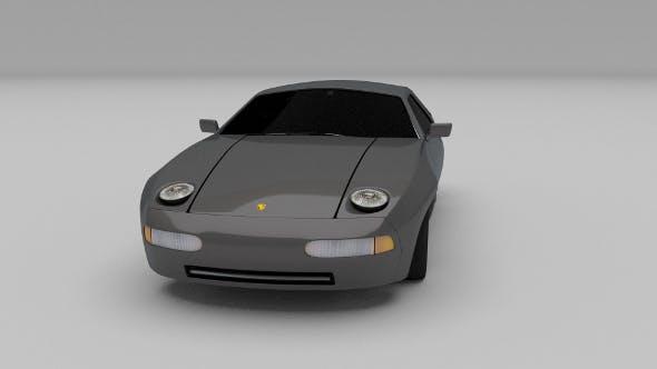Porsche 928 - 3DOcean Item for Sale