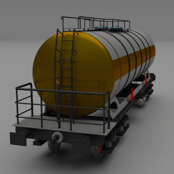 Train tanker car