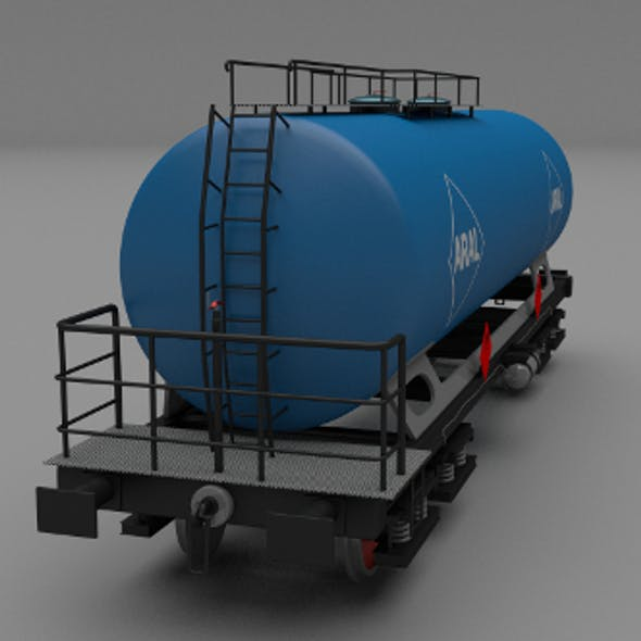 Aral train tanker car