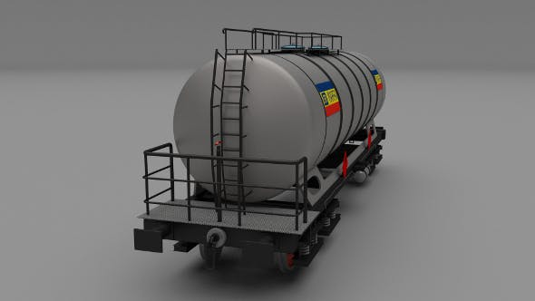 CFR train tanker car - 3DOcean Item for Sale