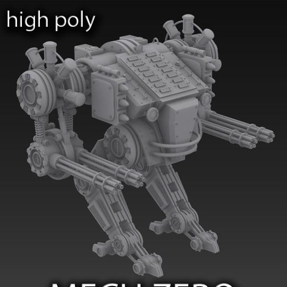 Mech Warrior CG Textures & 3D Model from 3DOcean