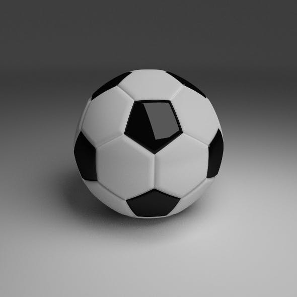 High Quality Classic Football - 3DOcean Item for Sale