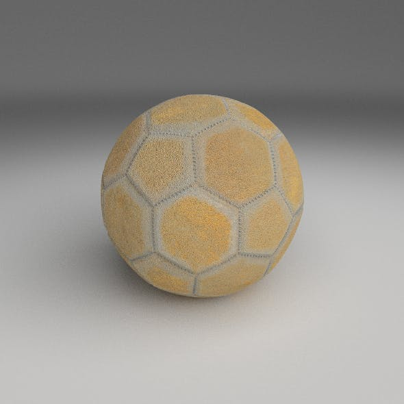 Old Used Football
