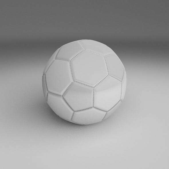 High Quality White Football