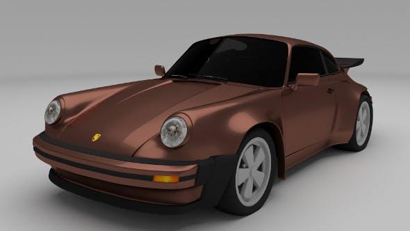 1975 Porsche 911 930 - 3DOcean Item for Sale