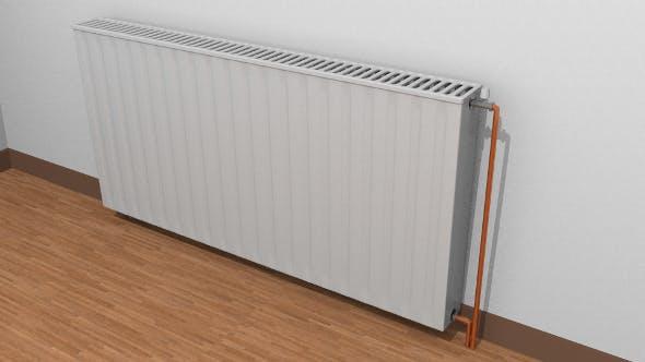 Radiator/Heater - 3DOcean Item for Sale