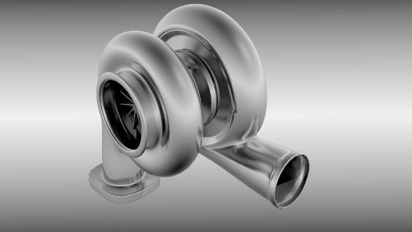 Turbocharger - 3DOcean Item for Sale