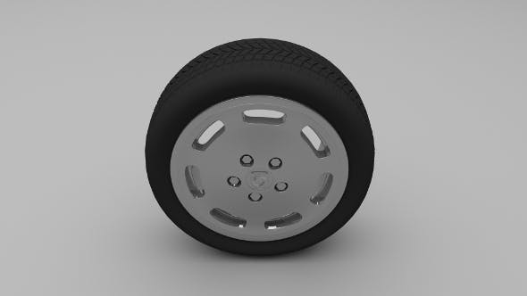 Porsche Wheel 2 - 3DOcean Item for Sale