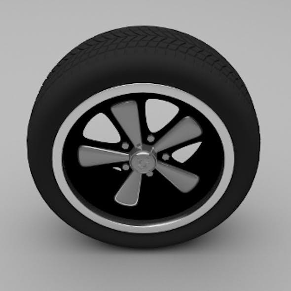 Porsche Wheel 3