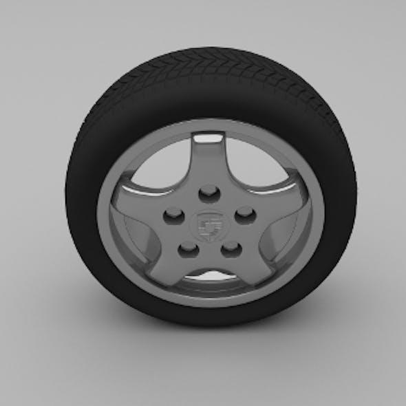 Porsche Wheel 4