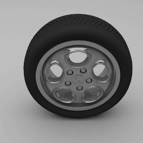 Porsche Wheel 5