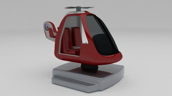 Coast Gurad Kiddie Ride - 3DOcean Item for Sale