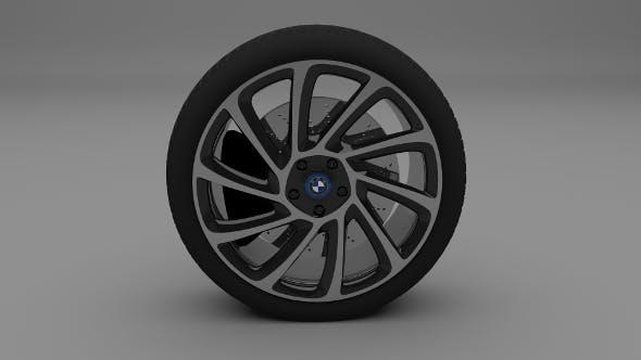 BMW i8 Wheel - 3DOcean Item for Sale