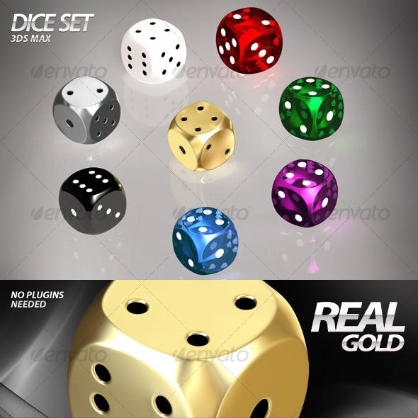 Dice Set – 3ds Max