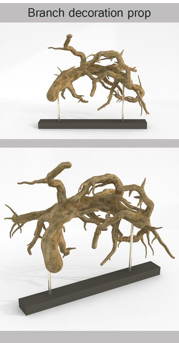 Branch Decoration Prop - 3DOcean Item for Sale