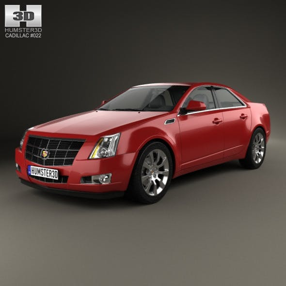 Cadillac CTS 2008 - 3DOcean Item for Sale