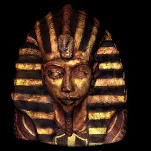 Ancient Egyptian Statue of Pharaoh Head