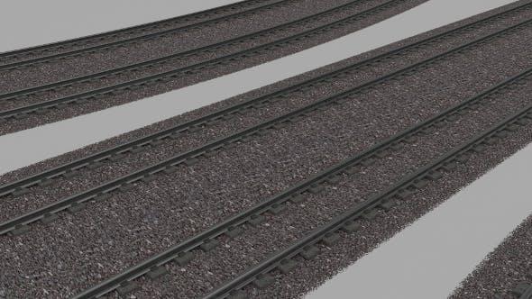 Double Rail Line - 3DOcean Item for Sale