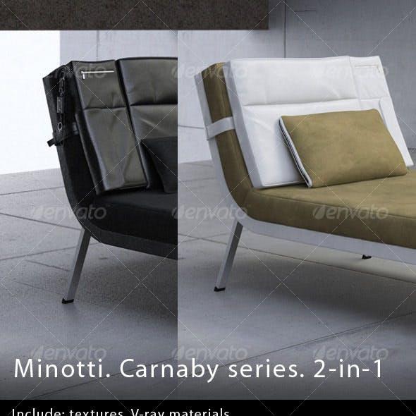Minotti. Carnaby series. 2-in-1